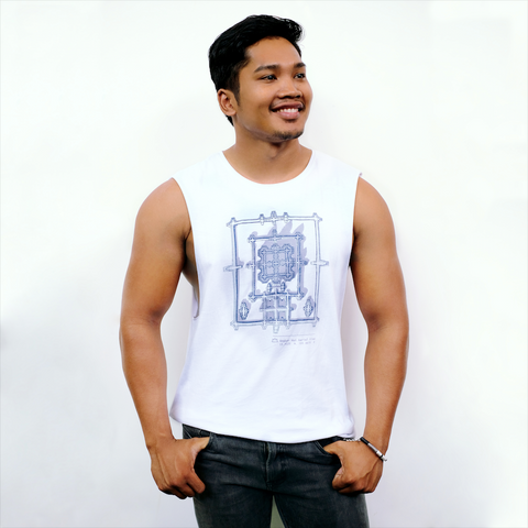 Angkor Shadow Tank - White