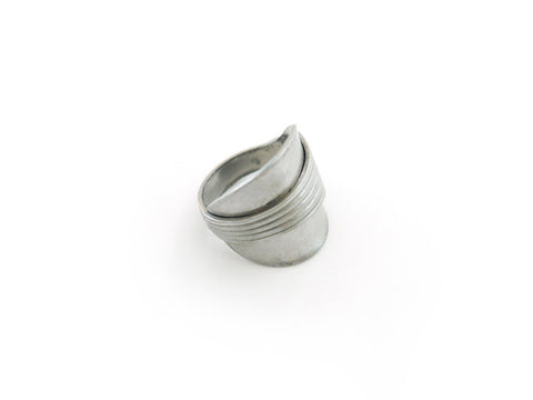 Spoon Ring (w/ ridges)