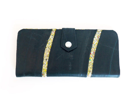 Tire & Glitter Travel Wallet