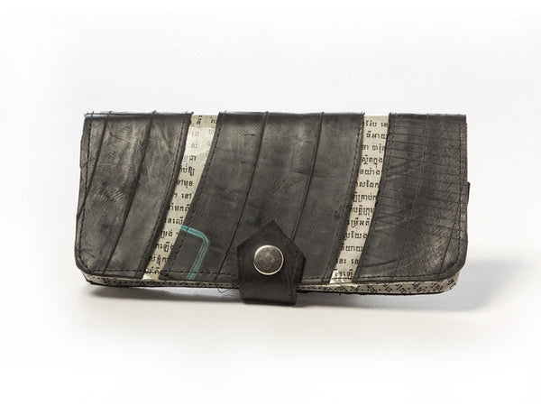 Tire & Newspaper Travel Wallet