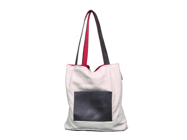 ChildSafe Tote w/ Tire & Fabric Handles (Pink)