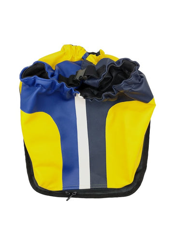 Racer yellow bicycle cover