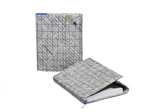 Newspaper Notebook (Blue)