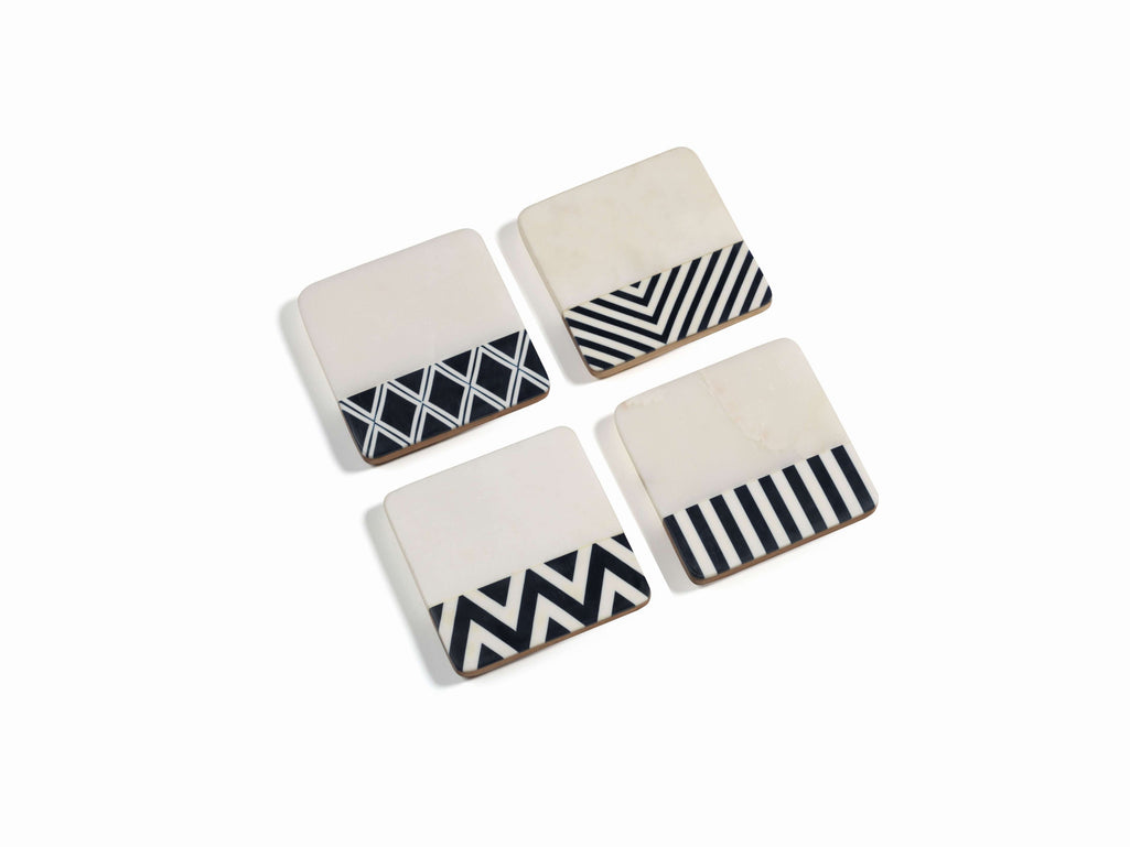 Black & White Coasters