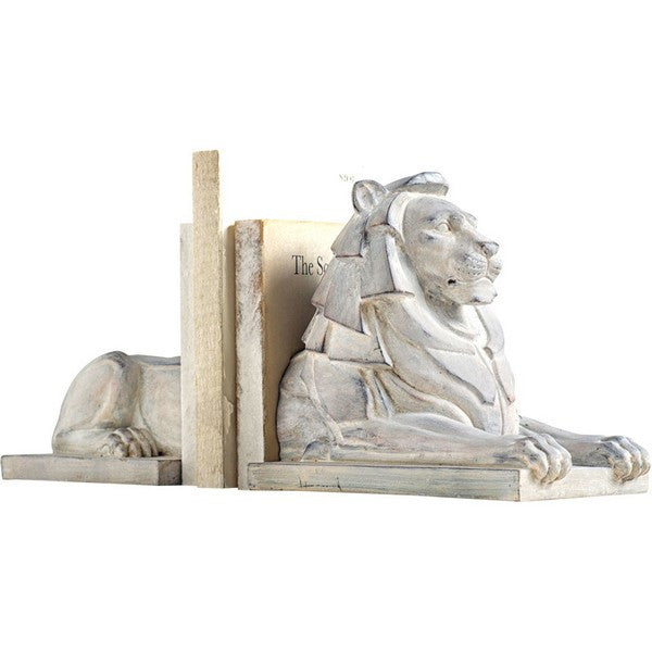 Lion Book End White