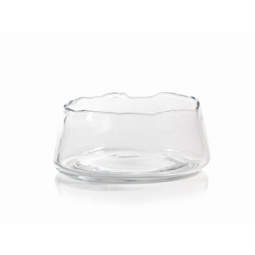 Clear Glass Manarola Decorative Bowl