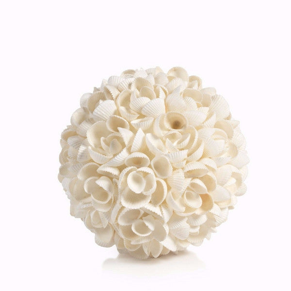 Round White Shell Ball