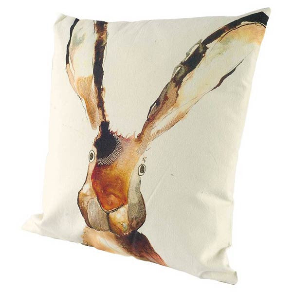 Rabbit or Hare Decorative Pillow