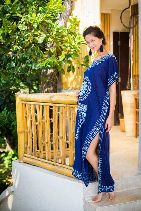 Bali Queen, Coco Rose, Resort Wear, Pool Wear, Bathing suit coverup, summer, summer style, block print, bali, travel, boho style, travel, one size, medallion, mumu