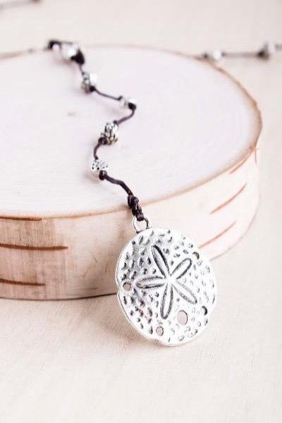 Sand Dollar Alloy Necklace