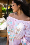 Bali Queen, Coco Rose, Resort Wear, Pool Wear, Bathing Suit Coverup, Summer, Sundress, Summer Style, Beach Boutique, Bali, Travel, Boho Style, Tulum, Embroidery, Trending, Cruise Wear, Vacation, Beach Wear, Insta Beachwear, Lifestyle, Swim, Caftan, Shop Online, Maxi, Embroidery, Miranda.