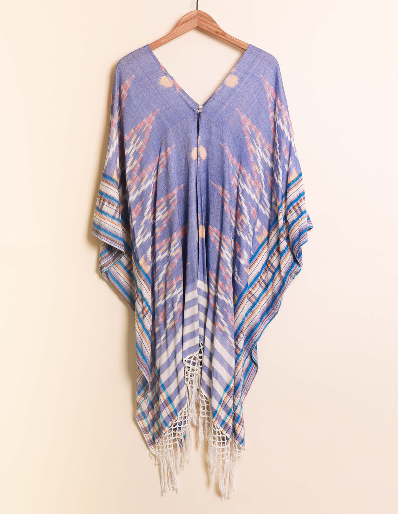 Bali Queen, Coco Rose, Resort Wear, Pool Wear, Bathing suit coverup, summer, summer style, boutique, bali, travel, boho style, travel, one size, yucatan, kimono, fringe, coachella