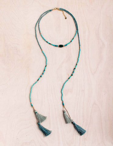 Summer Hamsa Necklace