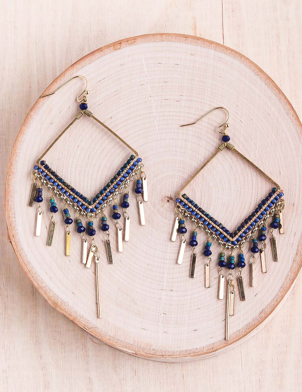 Thai Beaded Earrings