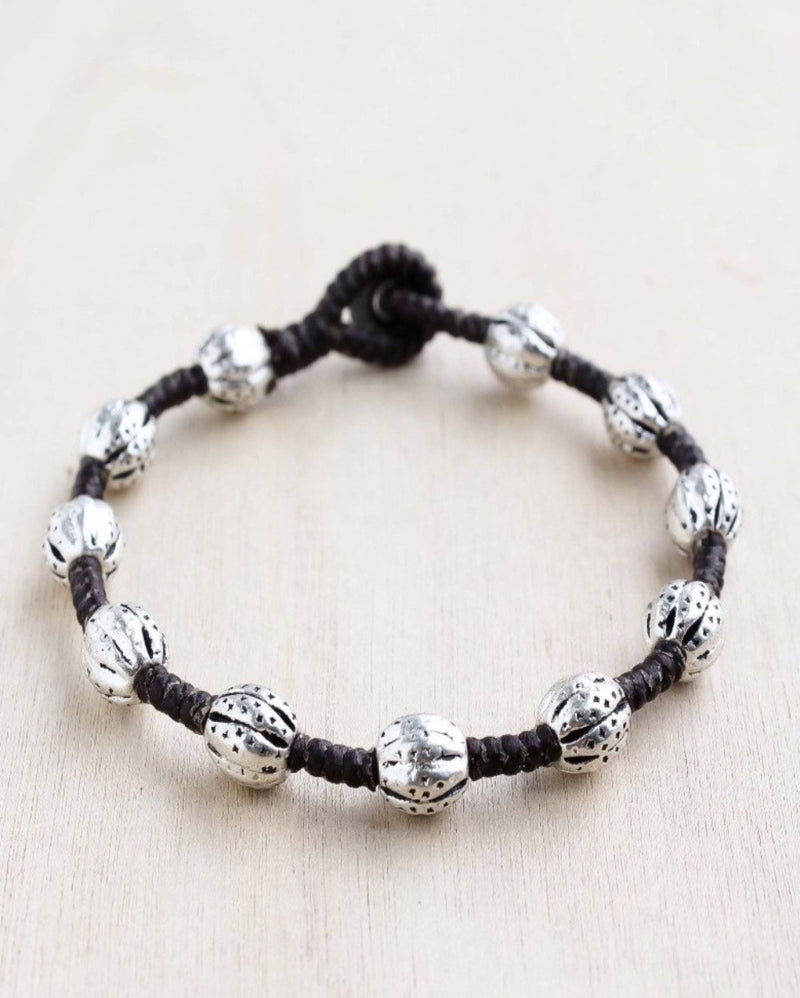alloy, bali queen, coco rose, silver, rhodium, hypoallergenic, tribal jewelry, single strand