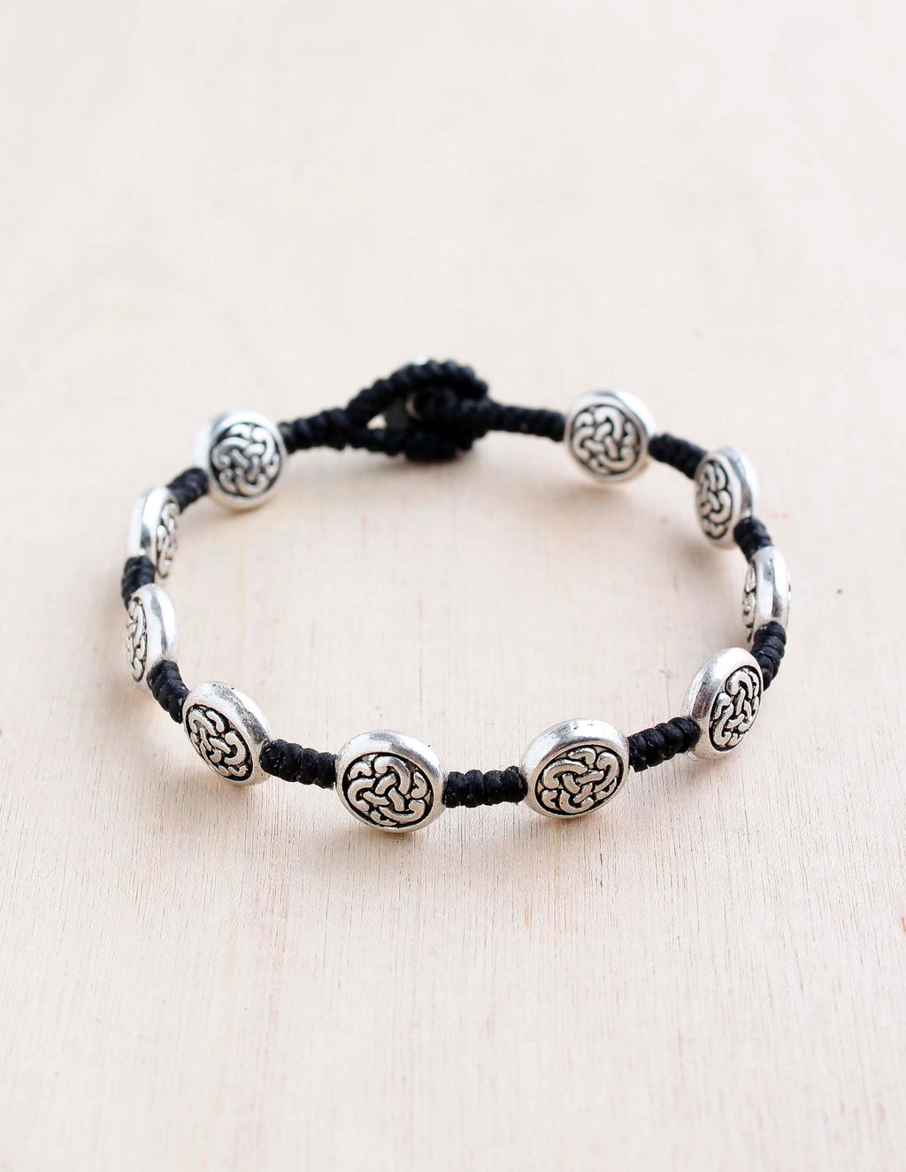 alloy, bali queen, coco rose, silver, rhodium, hypoallergenic, tribal jewelry, single strand, Celtic
