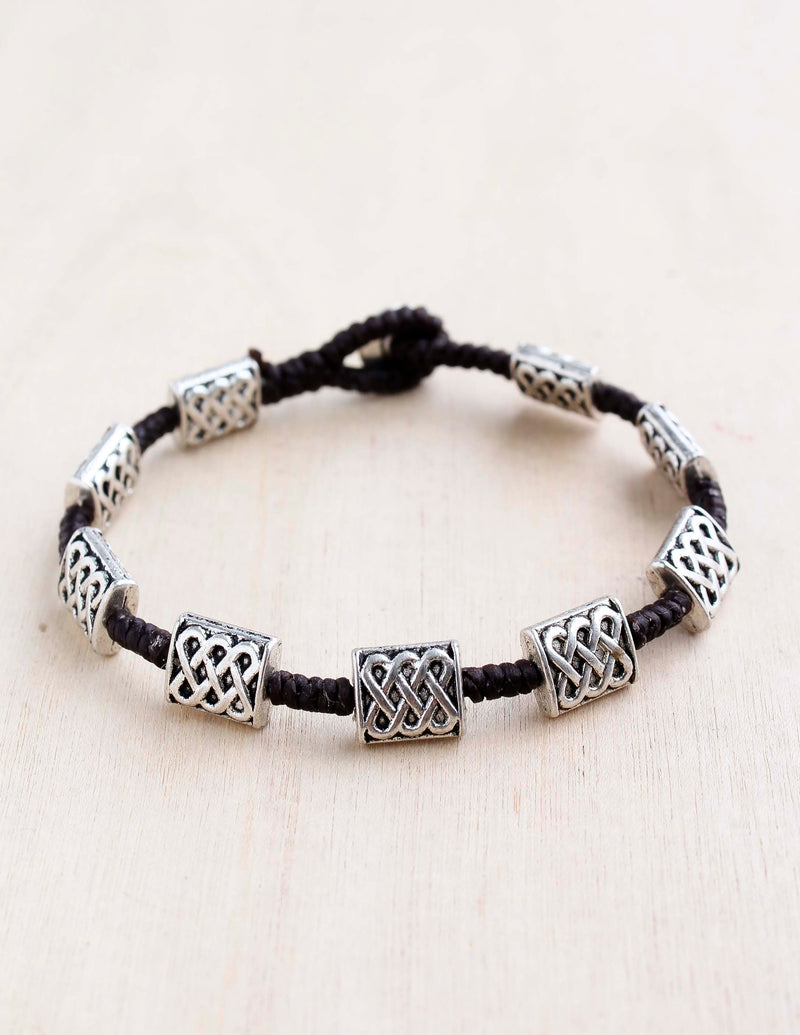 alloy, bali queen, coco rose, silver, rhodium, hypoallergenic, tribal jewelry, single strand. etched weave