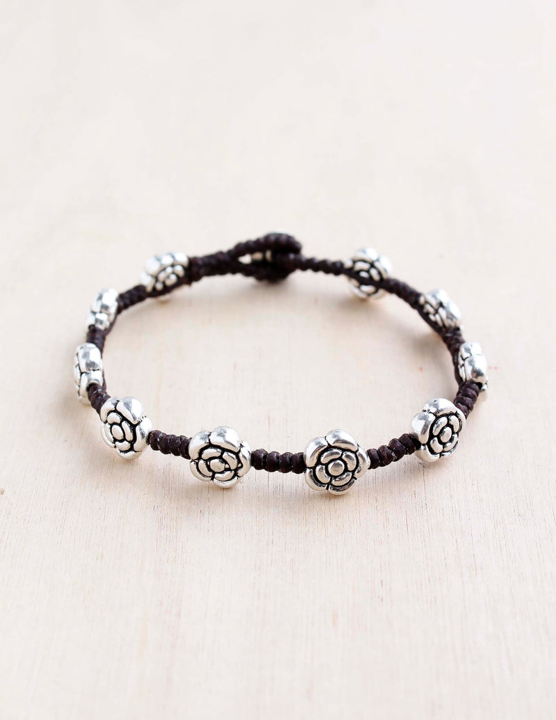 Rose Alloy Bracelet