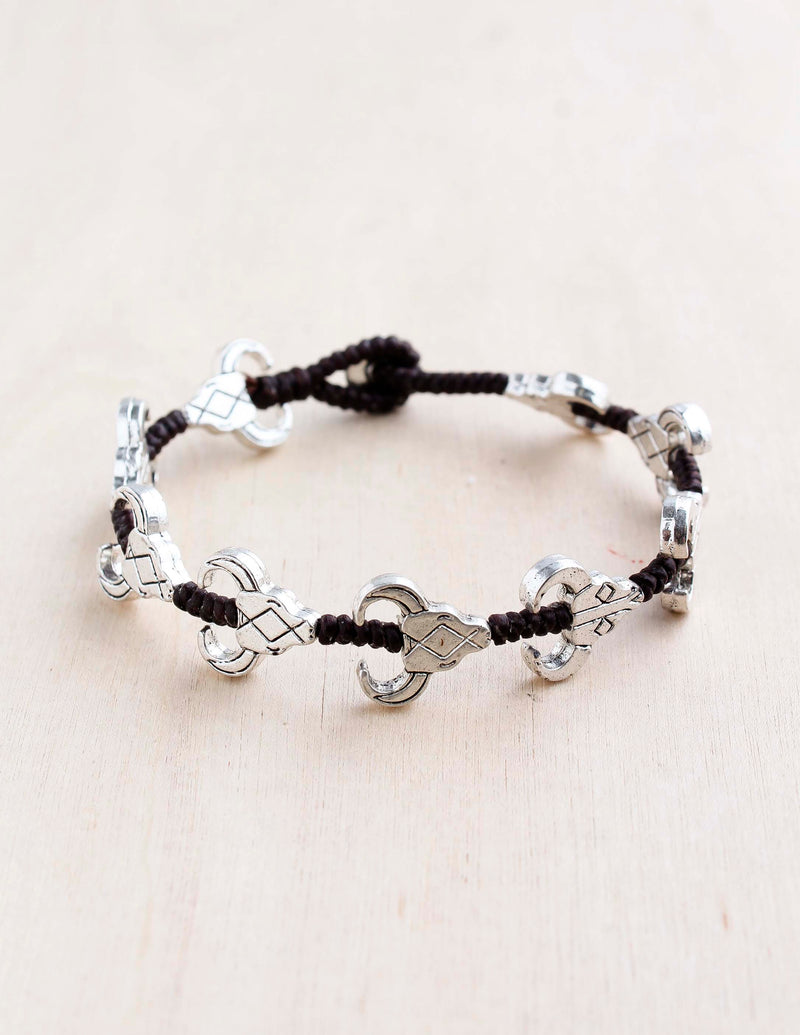 Wild West Alloy Bracelet