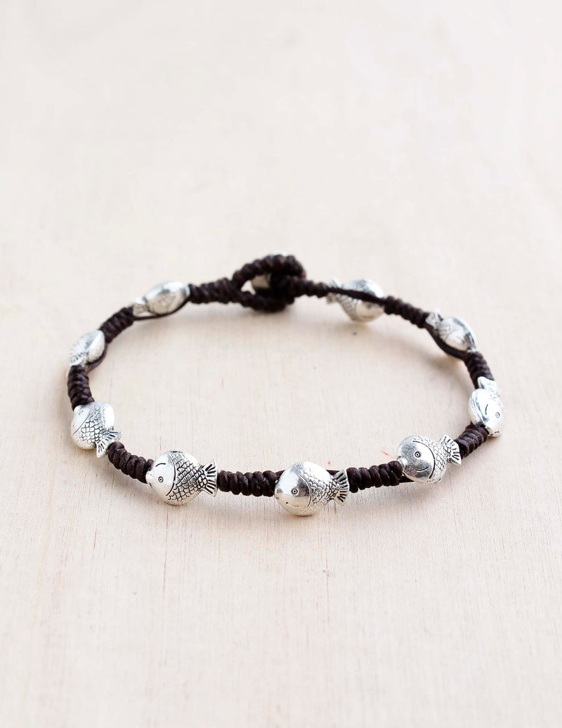 Alloy Little Fish Bracelet