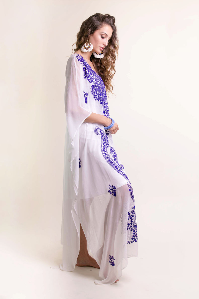 Bali Queen, Coco Rose, Resort Wear, Pool Wear, Bathing suit coverup, summer, summer style, boutique, bali, travel, boho style, travel, one size, jeweled caftan, jeweled tunic, India