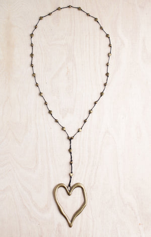 alloy, open heart, bali queen, bronze, antique bronze heart, heart necklace, bronze heart, open hammered heart, heart, artisian, bali queen alloy, bali queen, coco rose, silver, rhodium, hypoallergenic, tribal jewelry, open heart, heart necklace