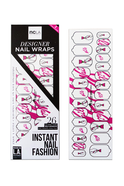 NCLA x Valley High Custom Nails Nail Wraps