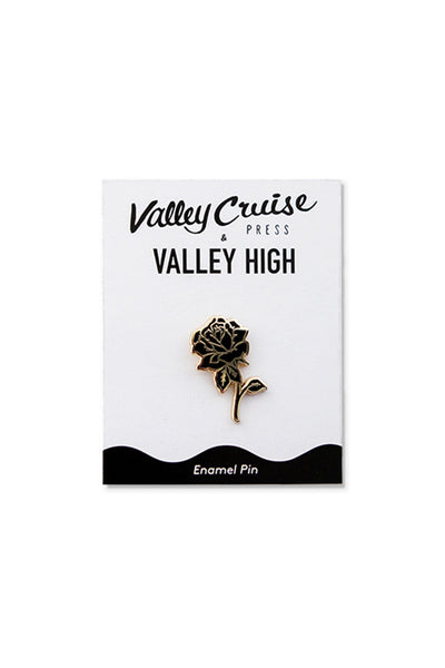 🌴  Valley High x Valley Cruise Press Rose Enamel Pin