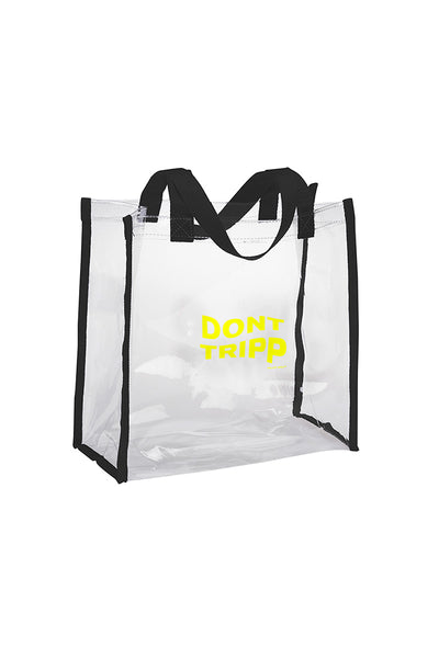 Don't Tripp Clear Tote Bag
