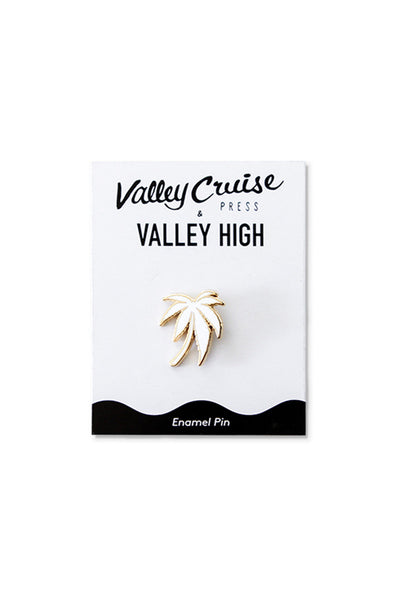 🌴  Valley High x Valley Cruise Press Palm Enamel Pin