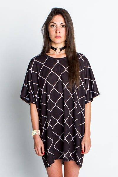 Chain Link Oversized Tee