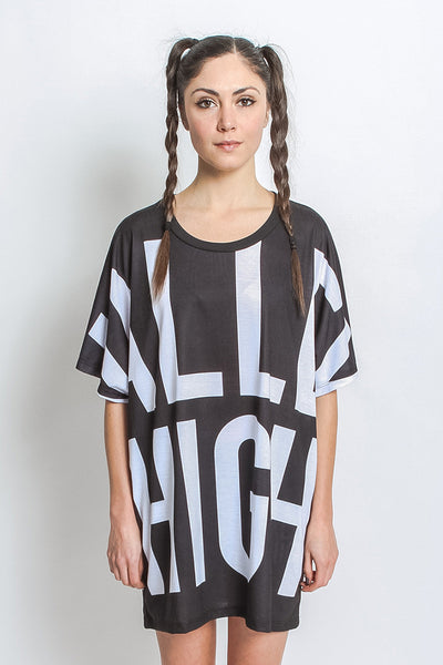 VALLEY HIGH OVERSIZED TEE