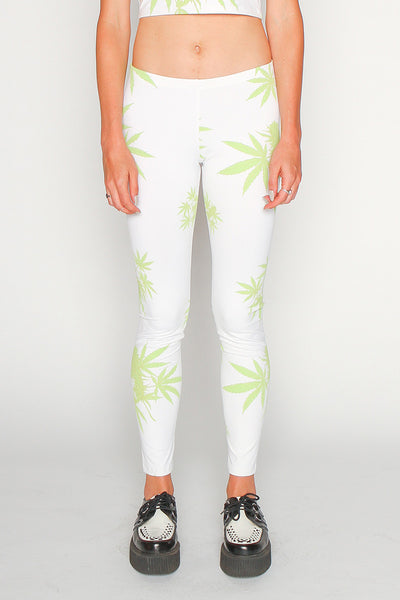 Marijauna Print Leggings