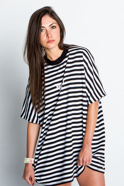 Stripe Oversized Top