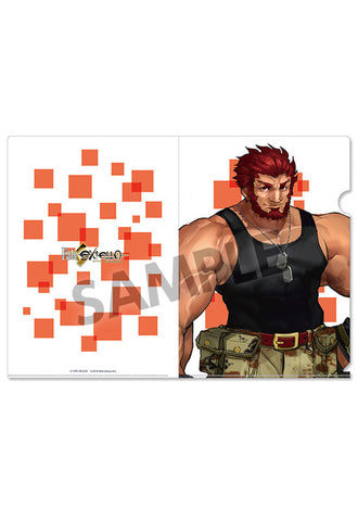 Fate/EXTELLA HOBBY STOCK Clear Document Folder vol.2 Iskandar