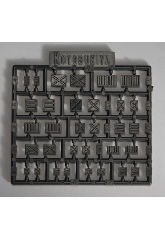 Modelling Support Goods KOTOBUKIYA PLASTIC UNIT Rectangular mold III