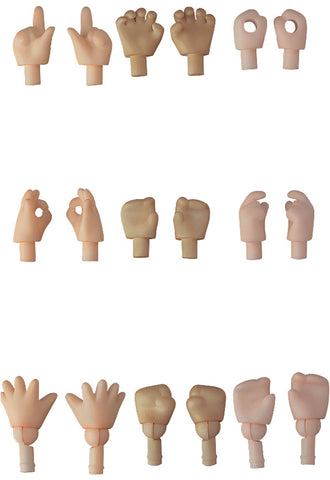 Nendoroid Doll Good Smile Company Hand Parts Set (Peach/Cinnamon/Cream)
