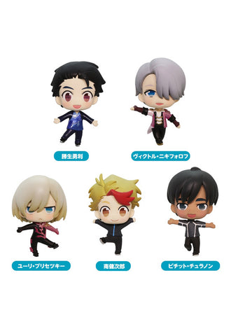 Yuri!!! on ICE Bushiroad Creative Yuri!!! on ICE Collection Figure (Box of 6)