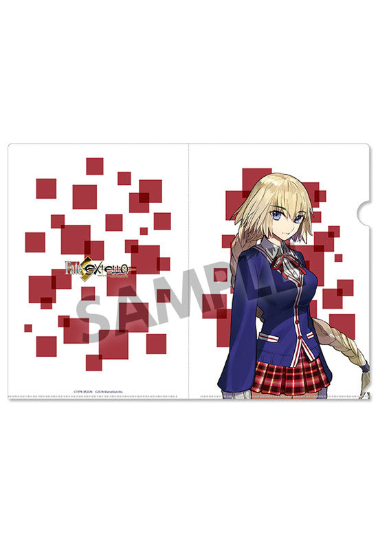 Fate/EXTELLA HOBBY STOCK Clear Document Folder vol.2 Jeanne d'Arc