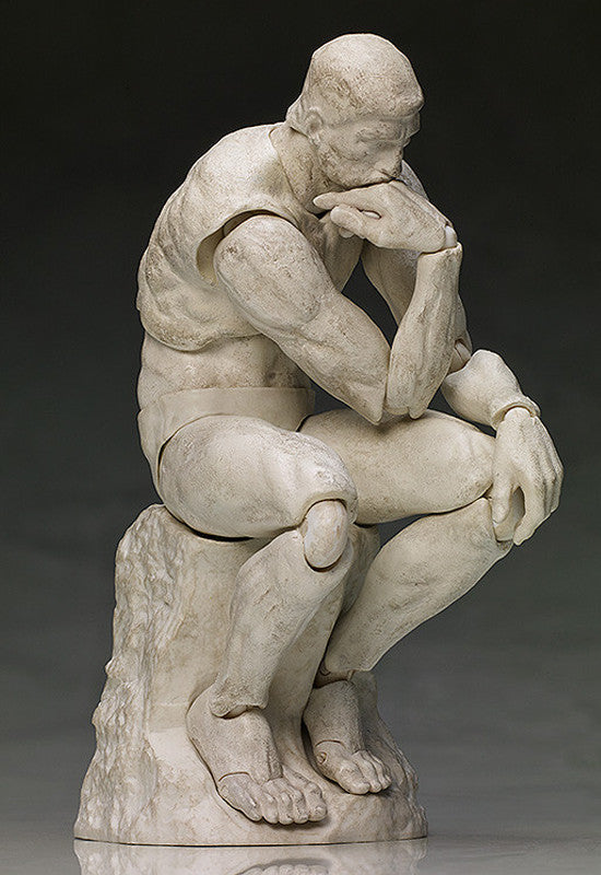 SP-056b The Table Museum figma The Thinker: Plaster ver. (re-run)