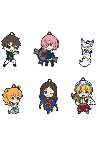 Fate/Grand Order - Absolute Demonic Front: Babylonia Good Smile Company Nendoroid Plus Collectible Rubber Keychains 01 (Set of 6 Characters)