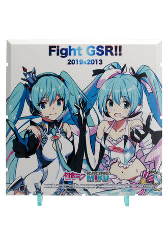 Dioramansion 150 PLM Dioramansion 150: Racing Miku Pit 2019 Optional Panel Rd. 2 FUJI