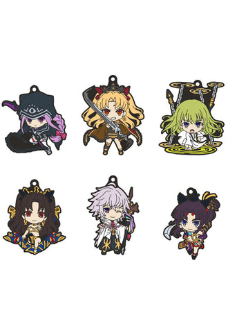 Fate/Grand Order - Absolute Demonic Front: Babylonia Good Smile Company Nendoroid Plus Collectible Rubber Keychains 02 (Set of 6 Characters)