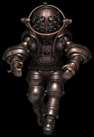 Takeya-Shiki Jizai-Okimono KAIYODO Vintage Diving Suits Collection No.01 Normal Color Ver.