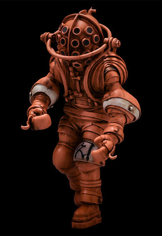 Takeya-Shiki Jizai-Okimono KAIYODO Vintage Diving Suits Collection No.01TA Takeya Color Ver.