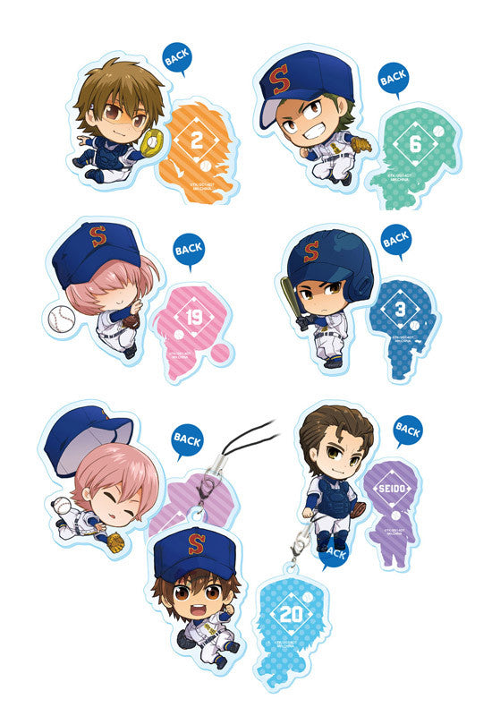 ACE OF DIAMOND MEGAHOUSE ACRYLIC CHARM COLLECTION