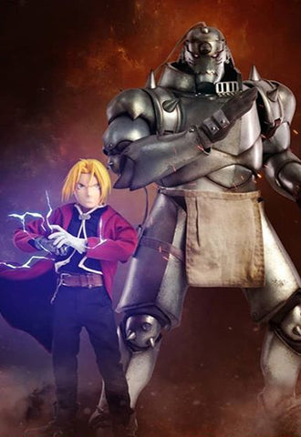 FULLMETAL ALCHEMIST: BROTHERHOOD ALPHONSE Threezero ELRIC & EDWARD ELRIC[Twin-Pack]
