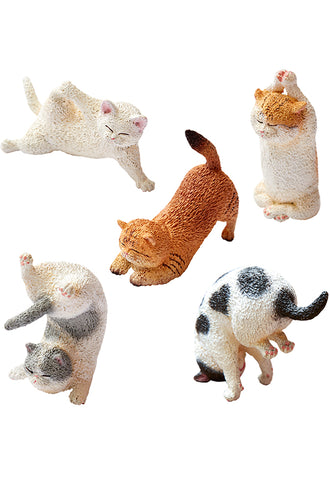 ANIMAL LIFE UNION CREATIVE Baby Yoga Cat (1 Random Blind Box)