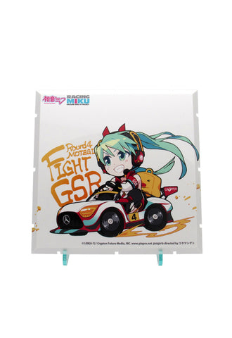 Dioramansion 150 PLM Racing Miku Pit 2020 Optional Panel (Rd.4 MOTEGI)