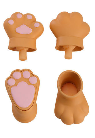 Nendoroid Doll Good Smile Company Nendoroid Doll: Animal Hand Parts Set (Brown)